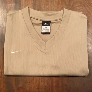 Nike tan men's tank top